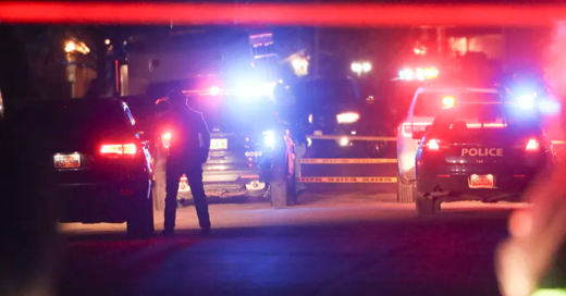 Mass shooting police